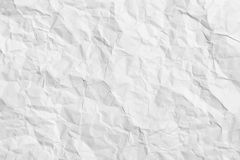 Crumpled paper - horizontal background Royalty Free Stock Photo
