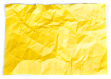 Crumpled paper Royalty Free Stock Image