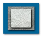 Crumpled Paper Layer. The Crumpled Paper of a Layer Royalty Free Stock Photography