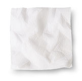 Crumpled Paper Napkins Royalty Free Stock Photos