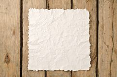 Crumpled paper Royalty Free Stock Photography
