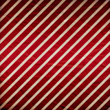 A crumpled  paper in a red and white stripe Royalty Free Stock Image