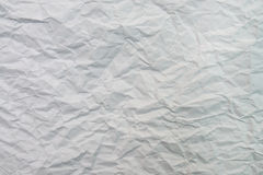 Crumpled paper sheet Stock Photo