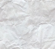 Crumpled paper sheet seamless Stock Photo