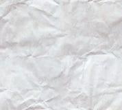 Crumpled Paper Sheet Seamless Stock Photo