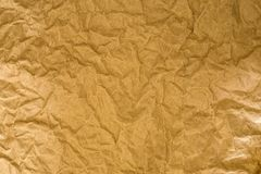 The Crumpled paper surface texture background Royalty Free Stock Photo
