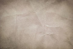 Crumpled paper texture Stock Photos