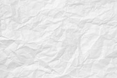 Crumpled Paper Texture. White Crumpled Paper Texture background Royalty Free Stock Images