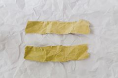 Crumpled paper texture. Abstract crumpled paper texture background royalty free stock photo