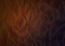 Crumpled paper texture abstract retro background Stock Images