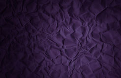 Crumpled paper texture abstract violet purple background Stock Photos