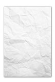 Crumpled paper texture background Stock Photos