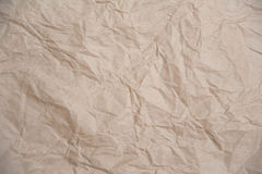 Crumpled paper texture. For background Stock Image