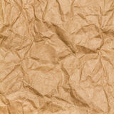 Crumpled paper texture background. Craft paper Stock Photography