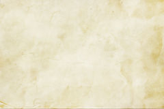 Crumpled paper texture in beige. Paper background texture Stock Image