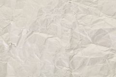 Crumpled paper texture. Close Up Stock Images