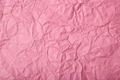 Crumpled paper texture Royalty Free Stock Photography