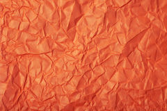 Crumpled paper texture Royalty Free Stock Image
