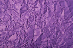 Crumpled paper texture Royalty Free Stock Photos