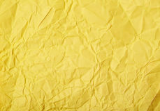 Crumpled paper texture Stock Images