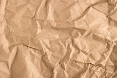 Crumpled paper texture. Recycled paper background royalty free stock image