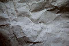 Crumpled paper texture for text background Royalty Free Stock Photos