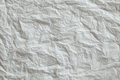 Crumpled paper texture Stock Photography