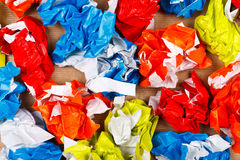 Crumpled papers Royalty Free Stock Photo