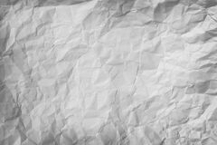 Crumpled piece of gray paper background Royalty Free Stock Image
