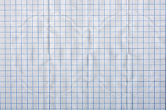 Crumpled piece of paper, a background. Or texture stock images