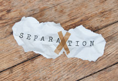 Separation Stock Images