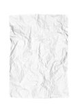 Crumpled piece of paper Stock Photo