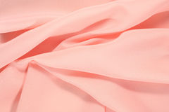 Crumpled pink fabric Royalty Free Stock Photos