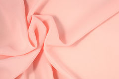 Crumpled pink fabric Royalty Free Stock Photography