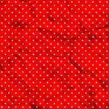 Crumpled polka dot pattern Stock Image