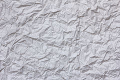 Crumpled rice paper. As background stock image