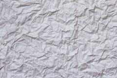 Crumpled rice paper Stock Image