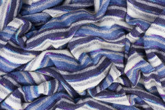 Crumpled Scarf from wool Stock Photo