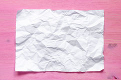 Crumpled sheet. Stock Image
