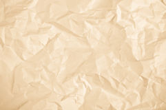 Crumpled sheet of paper royalty free stock photos