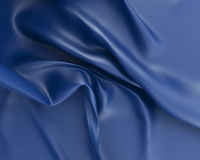 The crumpled silk Stock Images