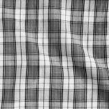 Crumpled tablecloth. Royalty Free Stock Images