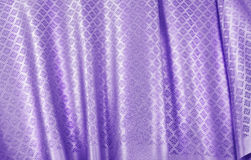 Crumpled thai silk fabric Royalty Free Stock Photography