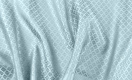 Crumpled thai silk fabric Stock Images