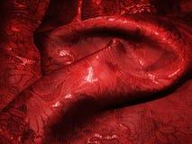 Crumpled tissue. Photo of bright crumpled tissue stock image