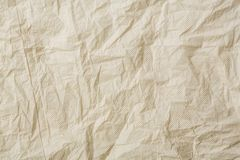 Crumpled tissue paper. Crumpled grey color tissue paper Stock Photo