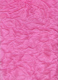 Crumpled Tissue Paper. Crumpled pink tissue paper for a background texture Royalty Free Stock Image