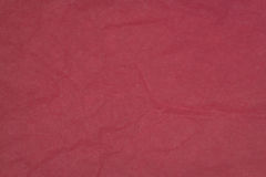 Crumpled tissue paper background. Cerise tissue paper crumpled for use as a background Royalty Free Stock Photos