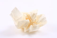 Crumpled tissue paper Royalty Free Stock Photo