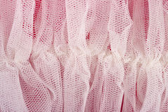 Crumpled tulle close up Stock Images